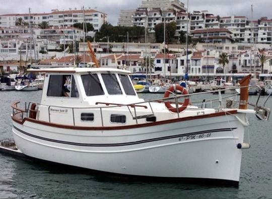 Alquilar un Menorquin Yacht 100