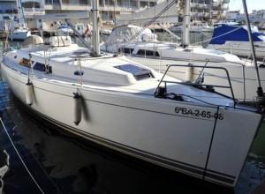 Alquilar un velero Hanse 400