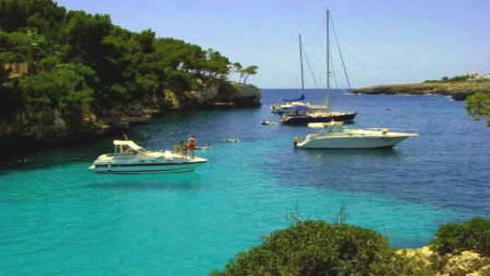 Navegar por Alcudia