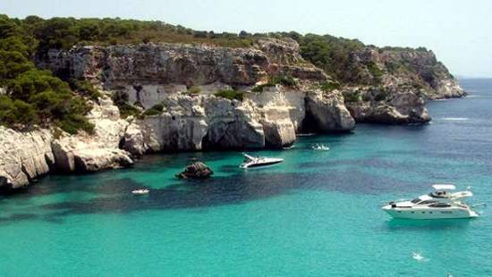 Charter en Menorca