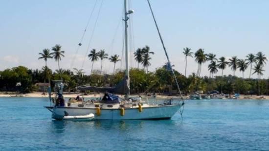 Navegar por el Mar Caribe