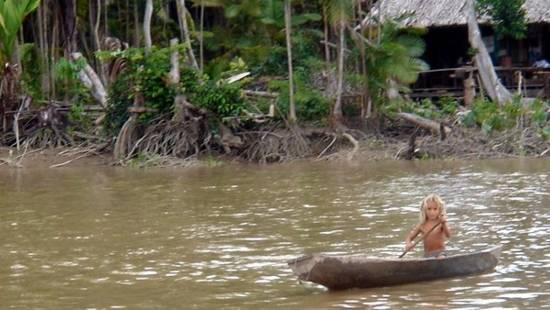 Navegar por el Amazonas