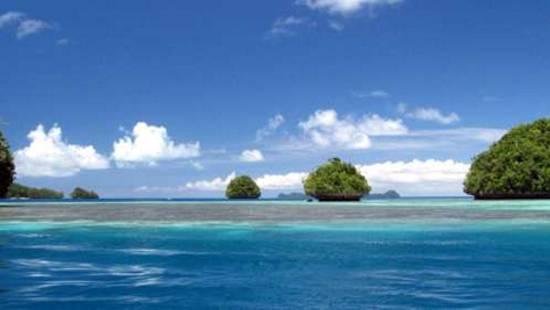 Navegar en Palau