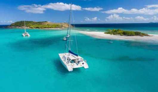 Navegar por las Antillas Menores