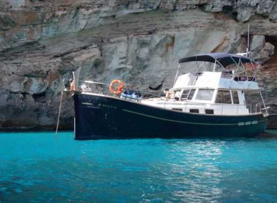 Alquilar un Menorquin 150 en Menorca